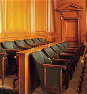 smaller jury box